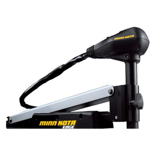 MinnKota Edge 70 Bowmount Foot Control Trolling Motor with Latch and Door Bracket (70lbs thrust, 45' Shaft)