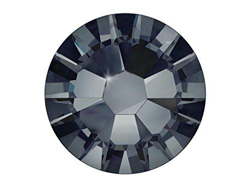 20 x Nail Art Swarovski® Overlay Kristalle Crystal Xilion Rose Graphite 2.15mm