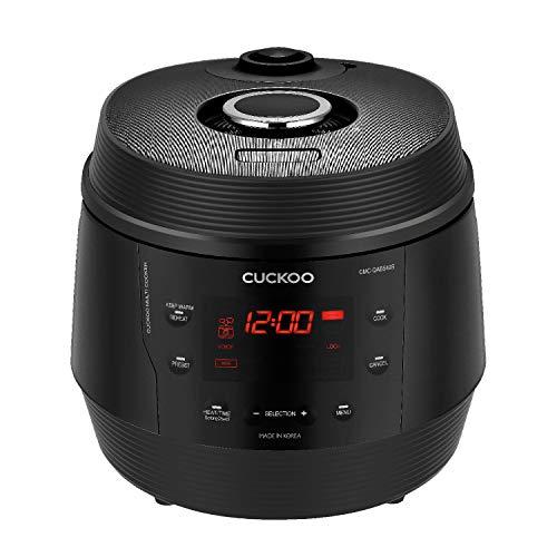 CUCKOO CMC-QAB549S Premium 8 in 1 Multikocher ICOOK Q5 mit 10 vorprogrammierten Modi