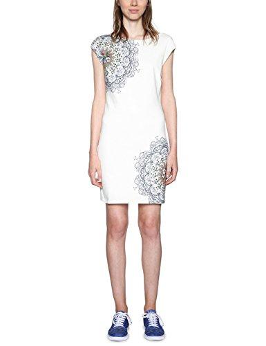 Desigual Damen Vest_Shanon Kleid, Weiß (White 1000), XL
