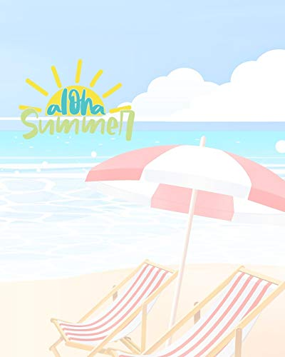 Aloha Summer: Vacation Journal & Planner | Holiday Check Lists, Itineraries, & Bookings | Journal Pages & Trip Info | Trip Travel Journal | Travel Planner | Trip Information Logbook