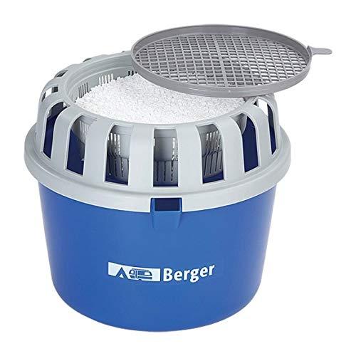 BERGER Luftentfeuchter mit 1 kg Entfeuchter Granulat - nachfüllbar Raumentfeuchter ohne Strom