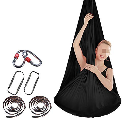 Lowest Price! Zxcvlina-YD Anti Gravity Yoga Hanging kit Swing Hammock Stretch Aerial Yoga Hammock In...