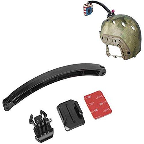 PROtastic® Braccio estensibile da montare su casco, 20 cm, Gopro® Hero/videocamera SJCAM Action