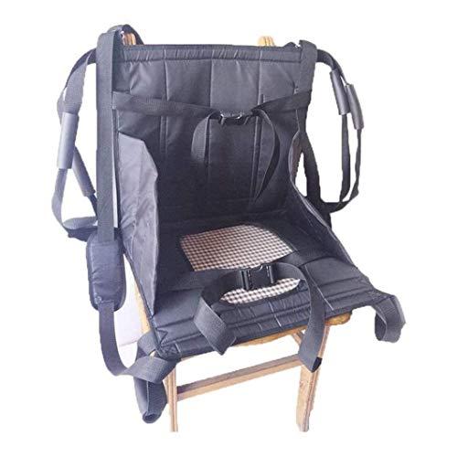 LRX Transferhilfen Treppen-Schiebebrett Rollstuhl-Sicherheitsgurt for Patientenlift Treppen Gleitbrett Übertragung Notevakuierung Stuhl Sicherheit Körper Lifting Sling Senioren Sliding Übertragen