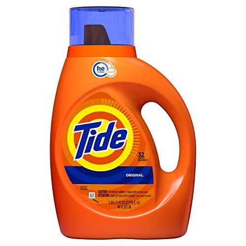 'Tide Liquid Laundry Detergent, Original, 32 Loads, 46 Fl Oz
