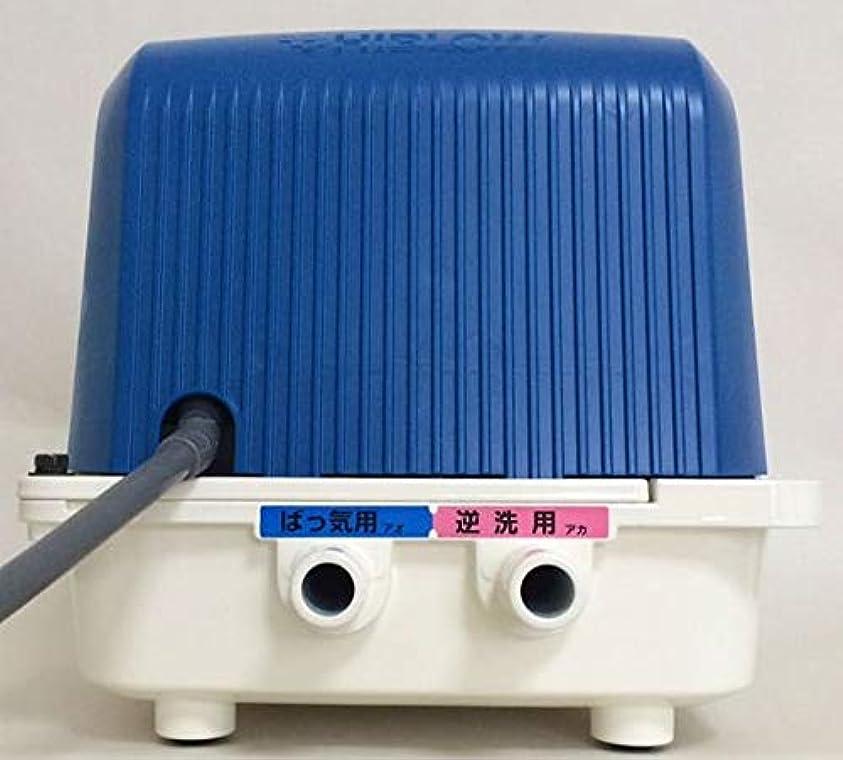 アトムクラフト単なる2年保証付!テクノ高槻 DUO-80(CP-80W後継機種) 左散気 浄化槽ブロワー 逆洗タイマー付 ジャバラホース付き