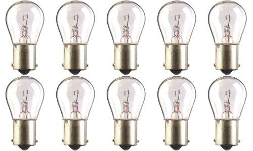 CEC Industries #7506 Bulbs, 12 V, 21 W, BA15s Base, S-8 shape (Box of 10)