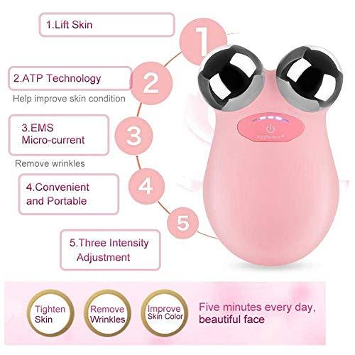 Facelifting Massageroller Jadestein Gesicht Körper Wellness Massage Roller Jape