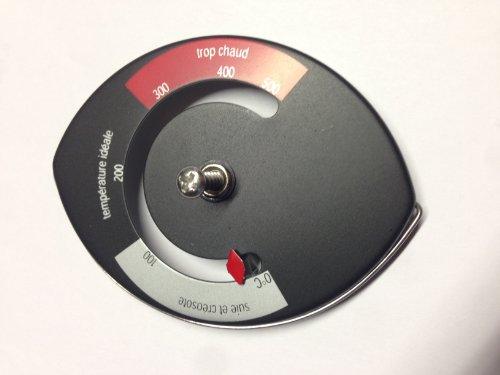 Magnetische thermometer (bimetaal) oventhermometer voor kachelpijp