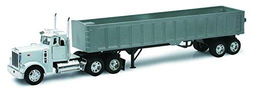 New Ray - 10543 - Véhicule Miniature - Die Cast Camion Benne Peterbilt Model 379