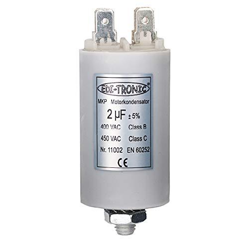 Kondensator Anlaufkondensator Motorkondensator Arbeitskondensator MKP 2µF 450V