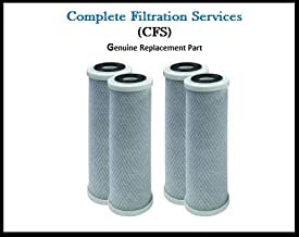 4 Pack of Compatible Filters for Watts (WCBCS975RV) Carbon Block Water Filter Cartridge by CFS