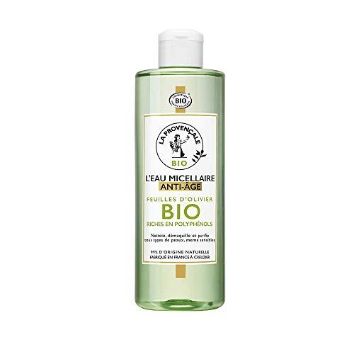 La Provençale Bio Micellaire Anti-Age Visage/Yeux Certifié Bio Huile d'Olive Bio AOC Provence Fabriqué en France pour Tous Types de Peaux 400 ml D3636601