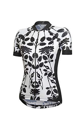 zero rh+ Venus W Ropa Woman Bike Jersey Mujer Japan White/Black, S