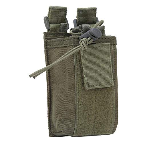 Qqmora Portátil, Resistente, Duradero, para Exteriores, para walkie Talkie, para walkie Talkie, para Colgar, pequeño, Ligero, Resistente para Actividades al Aire Libre(Green)