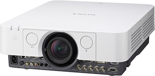 Sony VPL-FH31 - VPL-FH31, F Series, Installation Projector, 4300lm, WUXGA, 2000:1, BNC-RGB, VGA, DVI, HDMI, RS232C, RJ45, S Video, 1.6X Zoom, 4000H Lamp Life, 8,2Kg, Edge Blend and Warp functionality, Portrait Mode, 3 Years Prime Support, BrightEra Panels, Opt Wireless