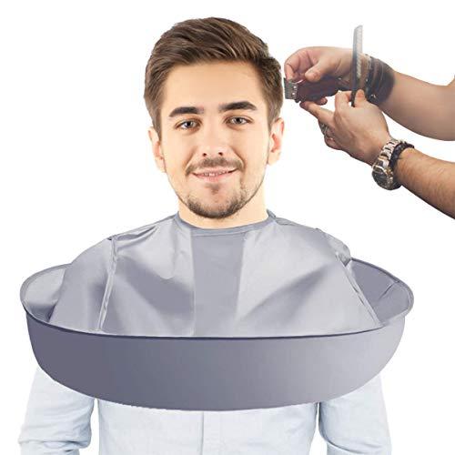 TOCYORIC Cape de coupe de cheveux - Cape de coupe de cheveux pour salon - Accessoire de Coupe de Cheveux pour Adultes Salon De Coiffure