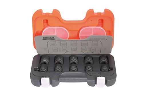 'Bahco clés douilles impact 1/2 (K7801 10 – 19 mm) d/s10 lot de x6