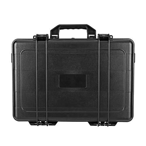 ZXCY Waterproof Hard Carry Case Flight Case Photography Hardware Tool Kits Storage Box Portable Toolbox 45 * 34 * 17.8Cm