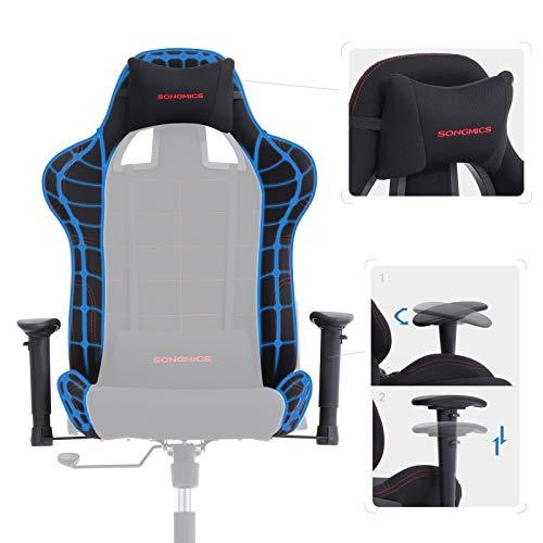 SONGMICS Bürostuhl Gaming Stuhl  hoher Bild 4*