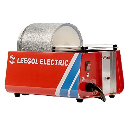 Leegol Electric 3LB Rock Tumbler (Pro Single Drum)