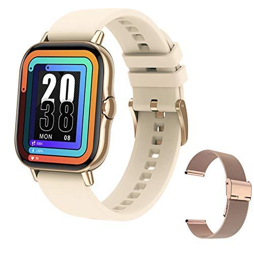 BFL Bluetooth Call Smart Watch 1.78 Pulgadas Pantalla Monitor De Ritmo Cardíaco Fitness Tracker DT94 Smartwatch para Android iOS,A