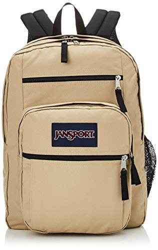 JanSport Big Student Backpack - 15-inch Laptop School Pack - Field Tan