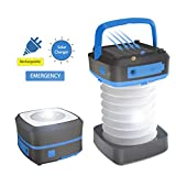 LED Camping Lantern, Sunnychic Solar Camping Light, Portable Outdoor Tent Lantern Emergency Light