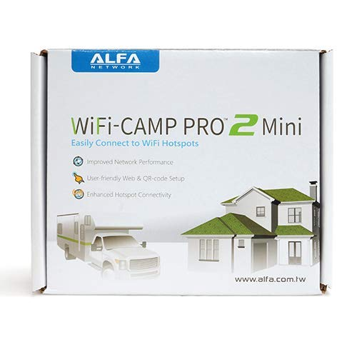 Alfa WiFi Camp Pro 2 Mini Version: R36A Wi-Fi USB Router + AWUS036NH Long Range Repeater Kit