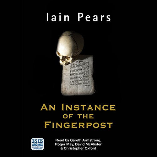 An Instance of the Fingerpost audiobook cover art