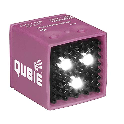 QUBIE Bluetooth LED Light Pink for photography and lighting