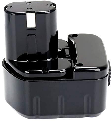 REEXBON 12V 2.0Ah EB1214S Battery for Hitachi EB1212S EB1214S EB1214L EB1220BL EB1220HL EB1220HS EB1220RS EB 1222HL EB1226HL EB1230HL EB1230R EB1230X EB1233X