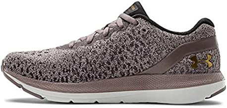 Under Armour Women's Charged Impulse Knit Running Shoe, Slate Purple (500)/White, 7