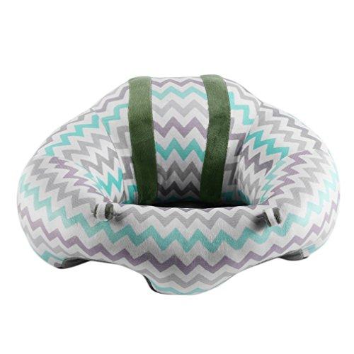 Tamaño portátil Cómodo bebé recién Nacido Bebé Infantil Comedor Silla de Almuerzo Asiento Color Mezclado