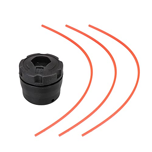 BQLZR Plástico Bump Feed String Trimmer 25-2 Trimmer Head para 4002 710 2108 Negro