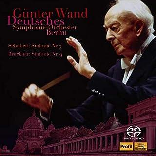 ギュンター・ヴァント 不滅の名盤 [1] / ベルリン・ドイツ交響楽団編 ~ シューベルト: 交響曲第7(8)番「未完成」 | ブルックナー: 交響曲第9番 (Schubert: Sinfonie Nr.7 | Bruckner: Sinfon...