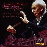 ギュンター・ヴァント 不滅の名盤 [1] / ベルリン・ドイツ交響楽団編 ~ シューベルト: 交響曲第7(8)番「未完成」   ブルックナー: 交響曲第9番 (Schubert: Sinfonie Nr.7   Bruckner: Sinfonie Nr.9 / Gunter Wand   Deutsches Symphonie-Orchester Berlin) [2SACD Hybrid] [Live Recording] [国内プレス] [日本語帯・解説付]