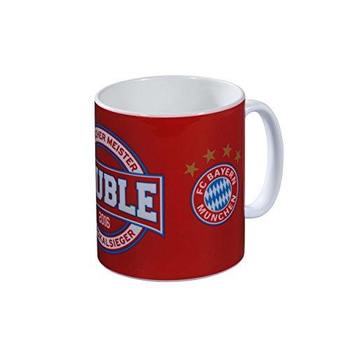 FC Bayern Tasse Double 2016