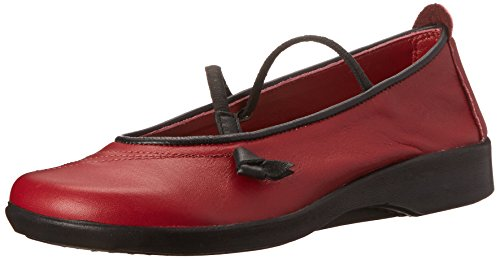 Arcopedico Women's Vitoria Burgundy Leather Shoe 9 M US