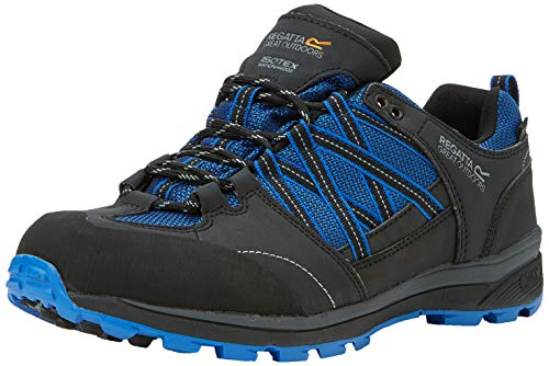Regatta Chaussures Techniques de Marche Basses Samaris II, Walking Shoe Homme, Oxford Blue/Ash, 47 EU