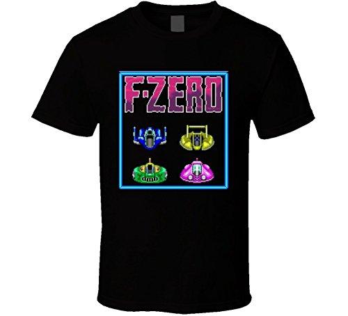 F-Zero SNES Classic Video Game T Shirt 2XL Black