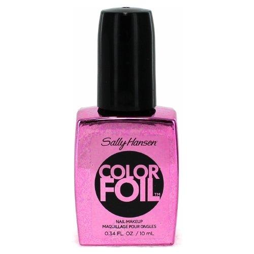 (3 Pack) SALLY HANSEN Color Foil Metallic Chrome Nail Polish - Titanium Flush