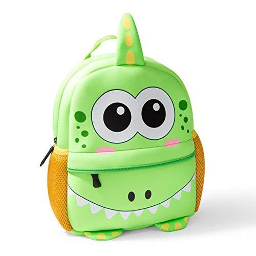 UKKD School bags Children Backpacks 3D Giraffe Design Girl Boys School Bags Toddler Kids Neoprene Schoolbag Kindergarten,J