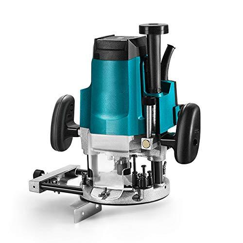 QWERTOUY Tratamiento de la Madera Mini máquina del Ajuste de múltiples Funciones de Recorte de Grabado de Madera fresadora 1800W 220V