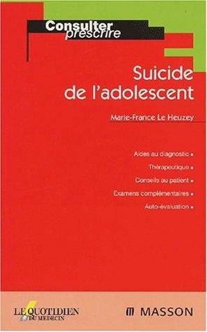 Suicide de l'adolescent