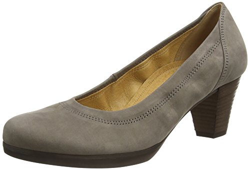 Gabor Gabor Damen Comfort Fashion Pumps, Braun (Brown Nubuck Oil), 39 EU