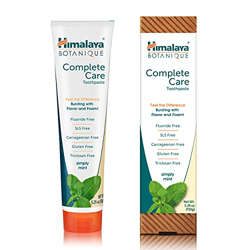 Himalaya Botanique Complete Care Toothpaste, Simply Mint,...