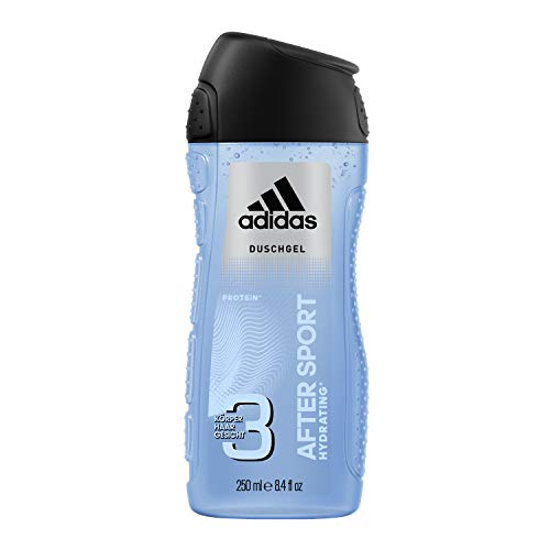 Adidas After Sport Gel de ducha para Hombre - 250 ml.