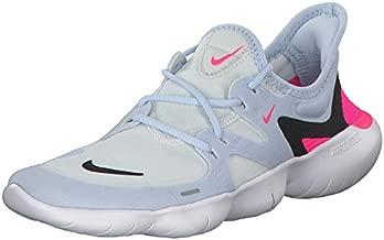 Nike Free RN 5.0 Women's Running Shoe White/Black-Half Blue-Hyper Pink 8.5